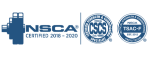 Fitness Factory Charlotte, NSCA Certified, TSAC-F, Online Training